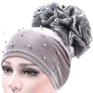 Accessories - Beaded Velvet Turban